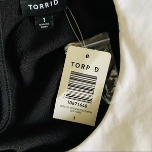 torrid Dresses - Torrid Textured Skater Dress NWT Size 1X